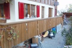 Nachher: Balkon