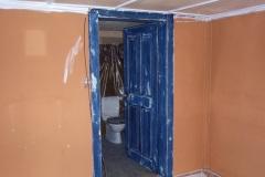 Vorher: Zimmer mit Türe