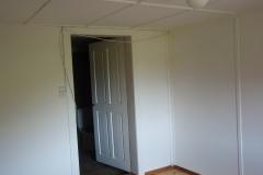 Nachher: Zimmer mit Türe