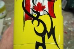 Natelhülle Kanadafahne