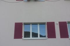 Fensterladen aufmalen