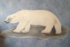 Freihandzeichnung Eisbär
