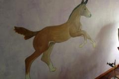 Freihandzeichnung Pferd
